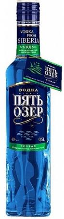 Водка особая Пять озер Особая 0,5 л. 40%